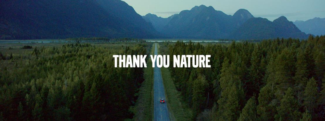 Volvo et FamousGrey remercient la nature