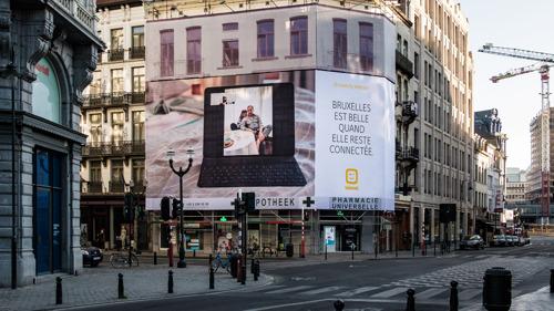 Telenet en fotograaf Jef Boes maken lockdown portretten van Brusselaars via webcam