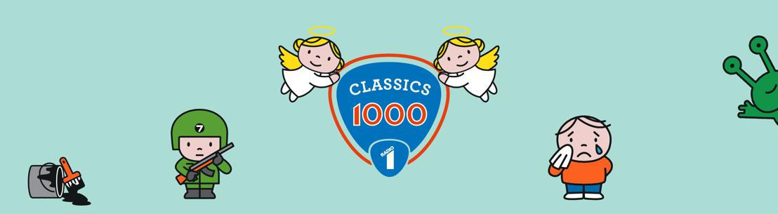 'Stairway to Heaven' opnieuw op 1 in de Classics 1000 van Radio 1