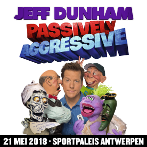 International comedy superstar Jeff Dunham is coming to Belgium