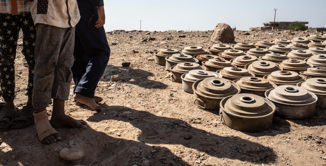 El impacto de las minas en la población civil de Yemen