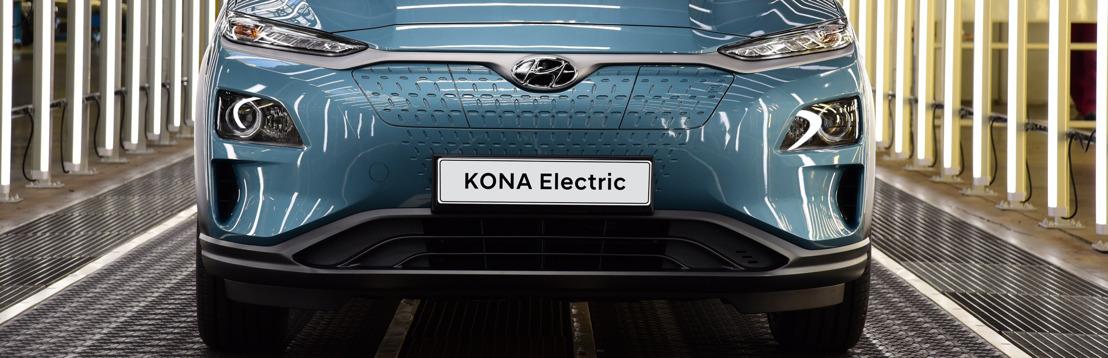 Hyundai Motor verhoogt productie Kona Electric