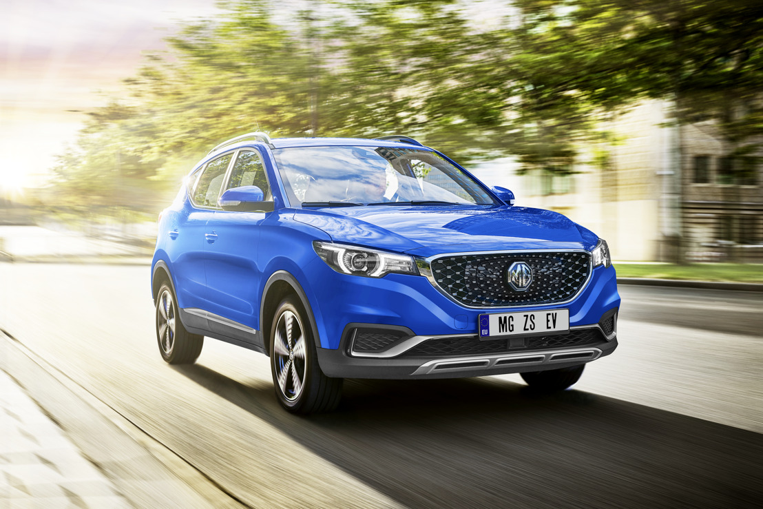 MG launches the brand new MG ZS EV embedded with the latest L2 Partially Automated Driving Technology from Bosch at IAA
