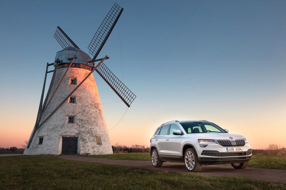 ŠKODA KAROQ: Nieuwe compacte SUV met veel ruimte en de nieuwste technologie