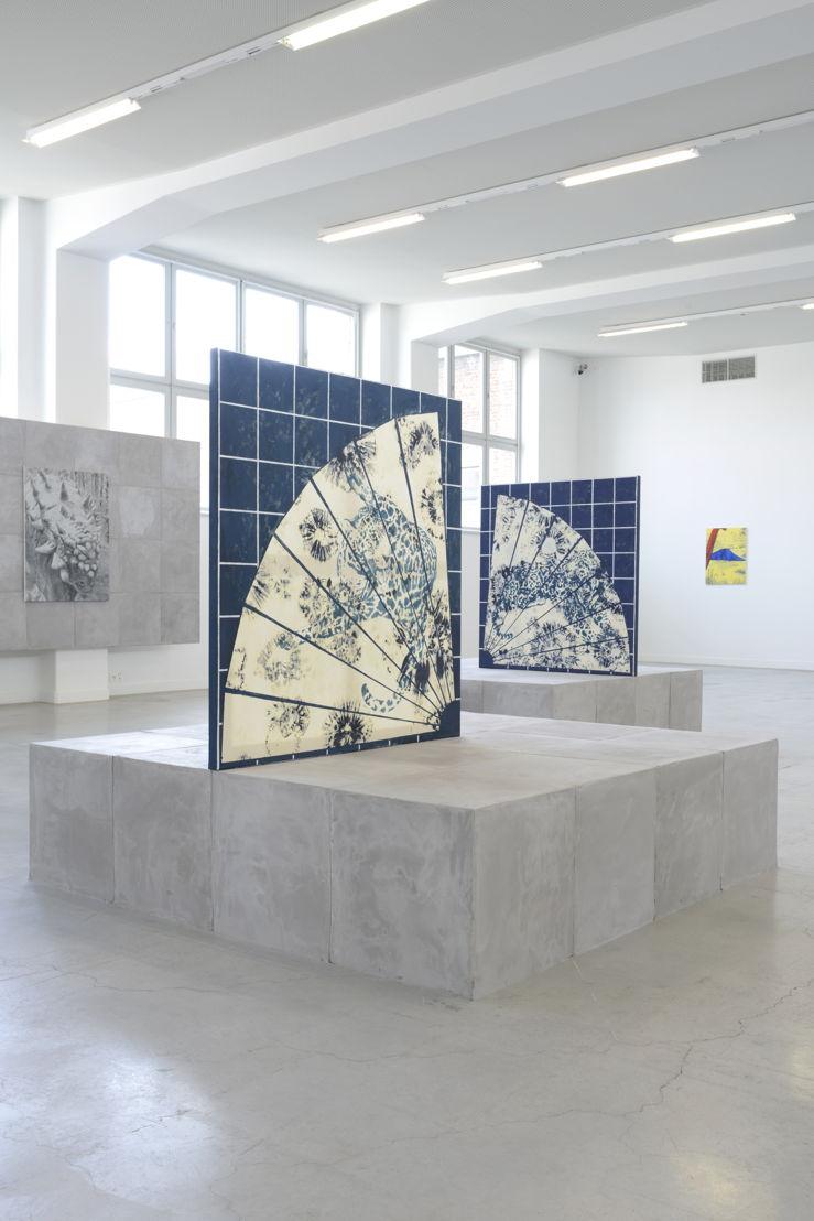 Zicht van de tentoonstelling Michael Van den Abeele. Opacity, please in M – Museum Leuven<br/>Courtesy Michael Van den Abeele. Foto: Isabelle Arthuis