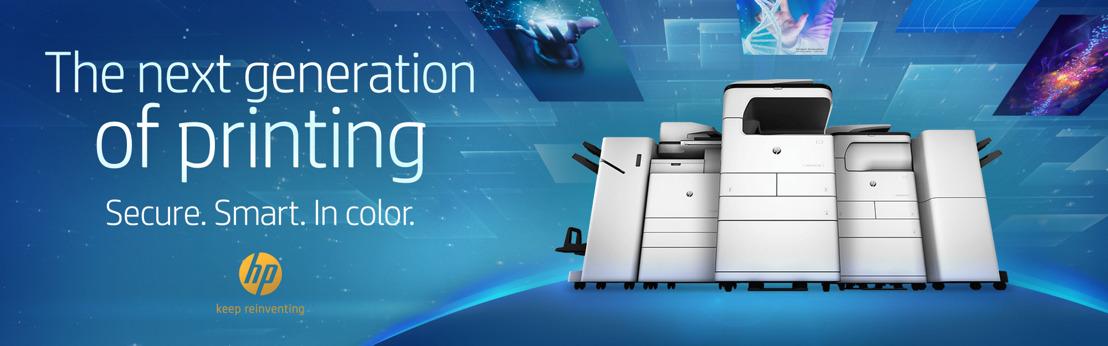 HP Inc. verstuurt 's werelds meest geavanceerde en veilige A3 printers