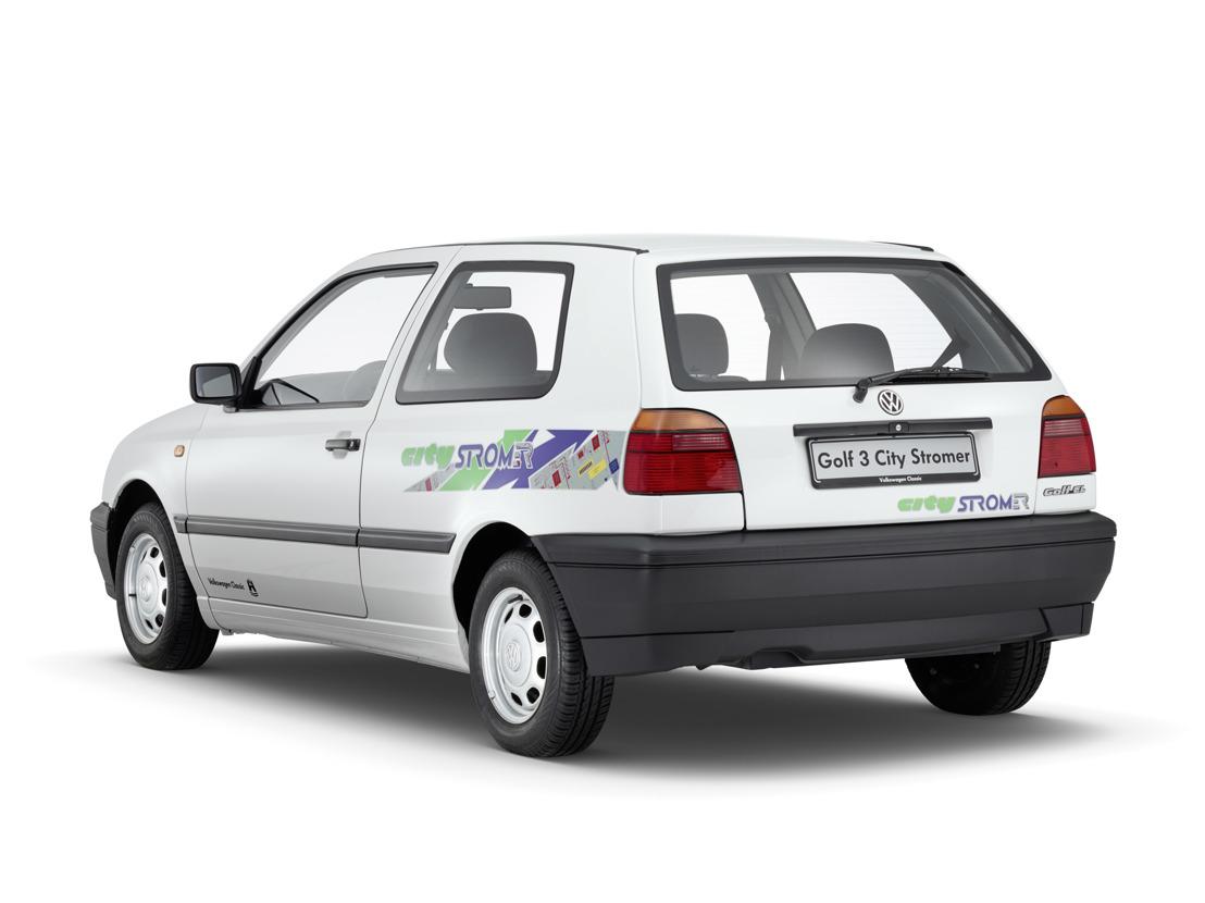 Beroemde modellen, vergeten modellen - De Golf CitySTROMer (1996)