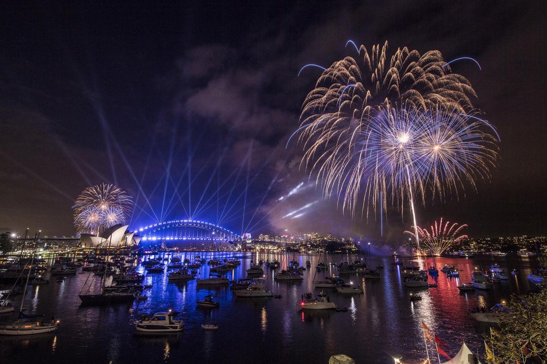 SydNYE16 9pm fireworks images courtesy City of Sydney
