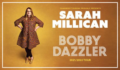 Sarah Millican komt naar Antwerpen met nieuwe voorstelling