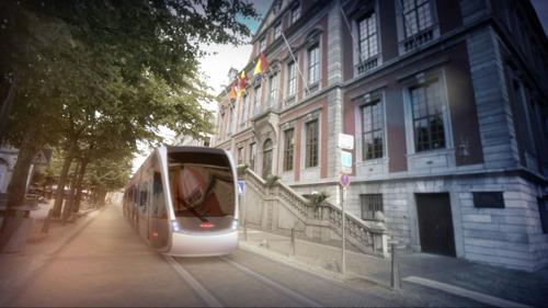 Le tram de Liège est attribué à Tram'Ardent