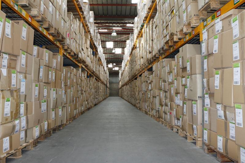 Groupe SEB - entrepôt de stockage - Franche-Comté (France)