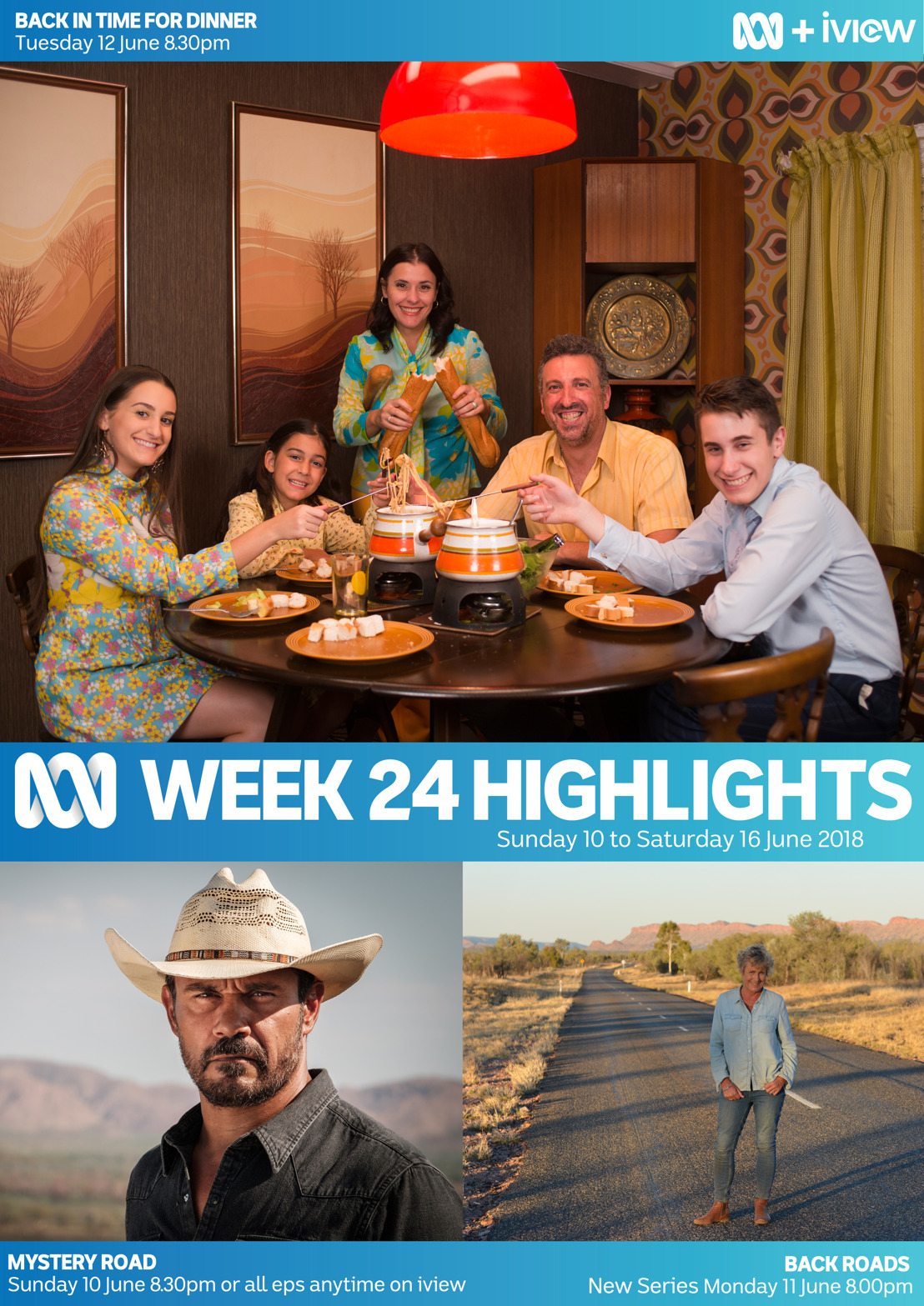 ABC TV program Highlights - Week 24
