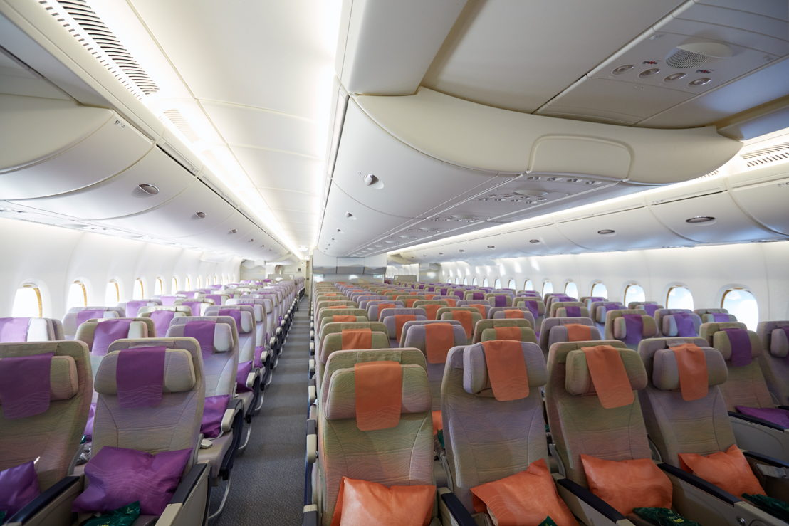 Economy Class on the Emirates Airbus A380.
