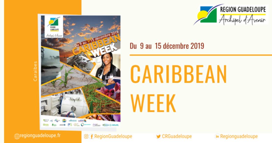 Échanger, partager, mettre en réseau : la Région Guadeloupe organise la semaine de la Caraïbe