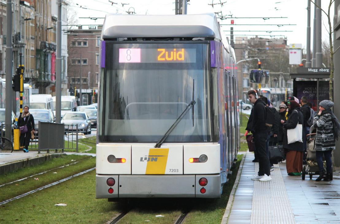 Tram 8 en 24 keren terug naar Deurne zuid