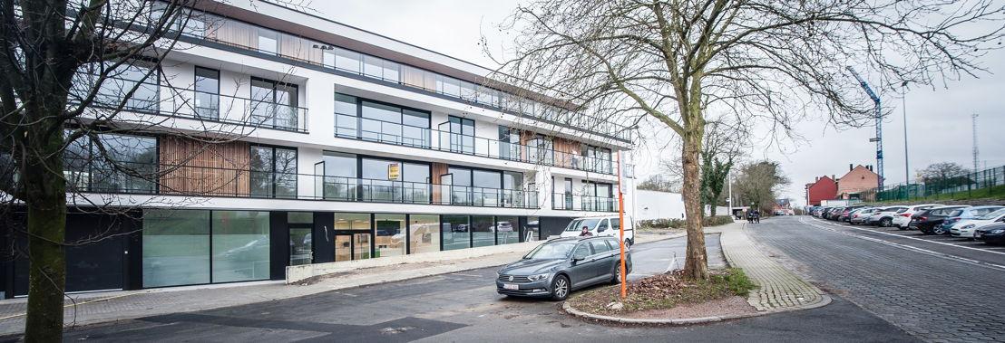 Nieuw gebouw Polikliniek Dilbeek van het UZ Brussel - Fotograaf: Bart Moens