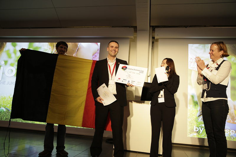 Jooki wins ACE Creative challenge at the Creative Business Cup
