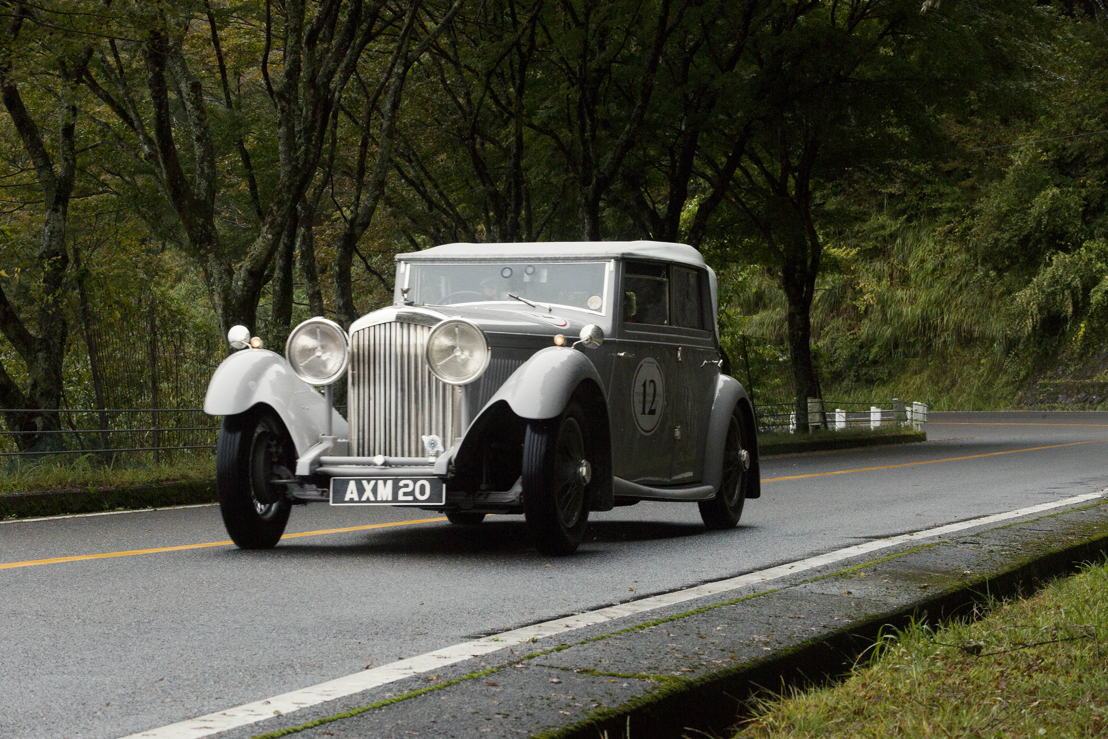 Car model: 1934 Bentley Derby