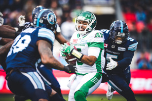 ARGOS ADVANCE TO 105TH GREY CUP WITH HOME WIN OVER RIDERS