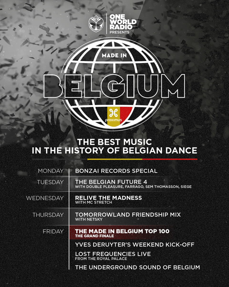 One World Radio presents Made in Belgium