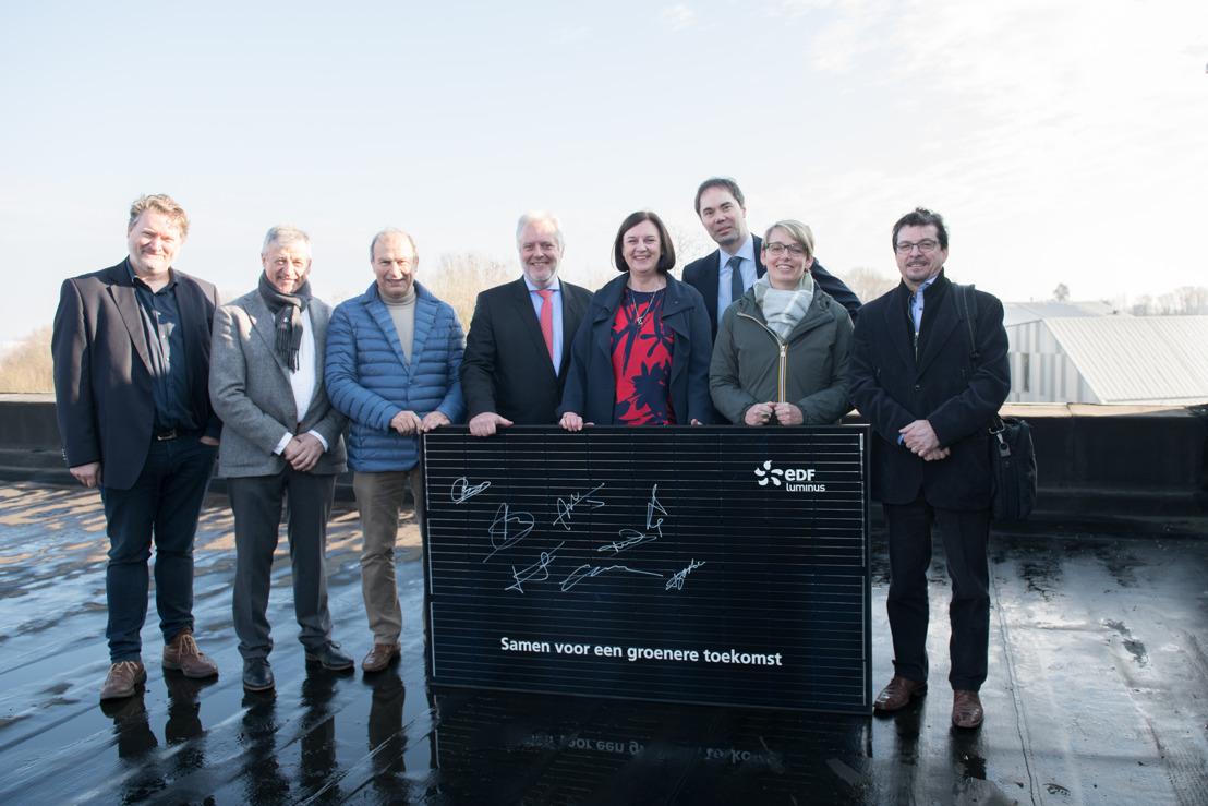 Gemeente Dilbeek bespaart 19% op energie samen met Luminus