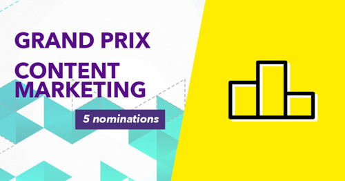 HeadOffice most nominated Belgian agency in the Grand Prix Content Marketing