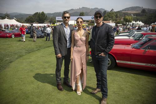 Eric Bana, Garrett Hedlund y Angela Sarafyan asistieron a 'The Quail, A Motorsports Gathering'