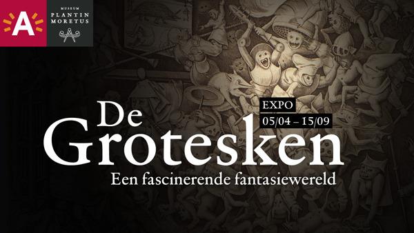 Preview: Groteske kunst in Museum Plantin-Moretus