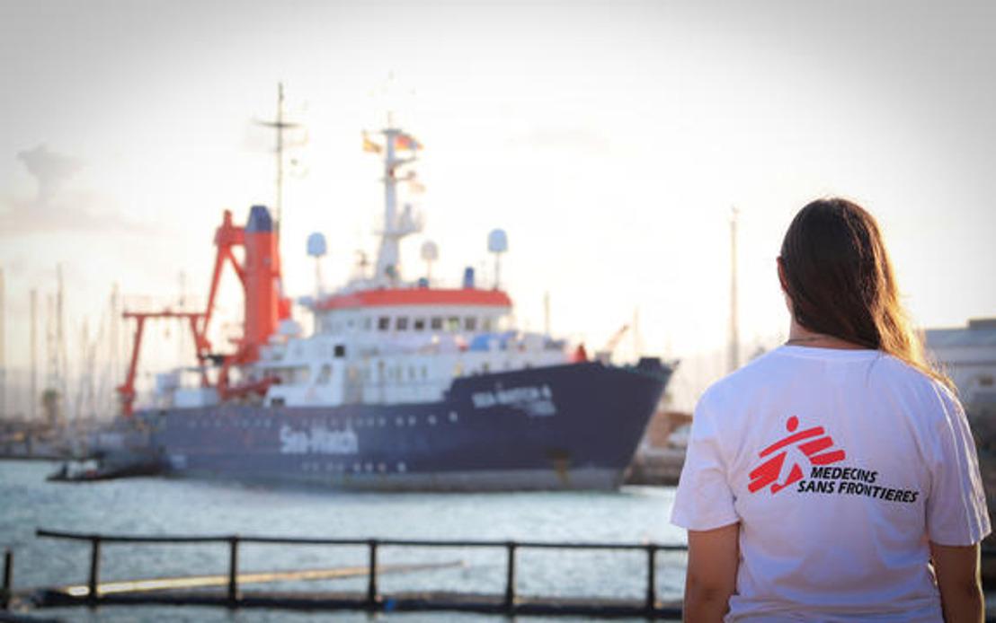 MSF et Sea-Watch s'associent pour sauver des vies en Méditerranée centrale