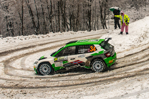 Rallye Monte-Carlo: ŠKODA FABIA Rally2 evo driver Andreas Mikkelsen among favourites in WRC2