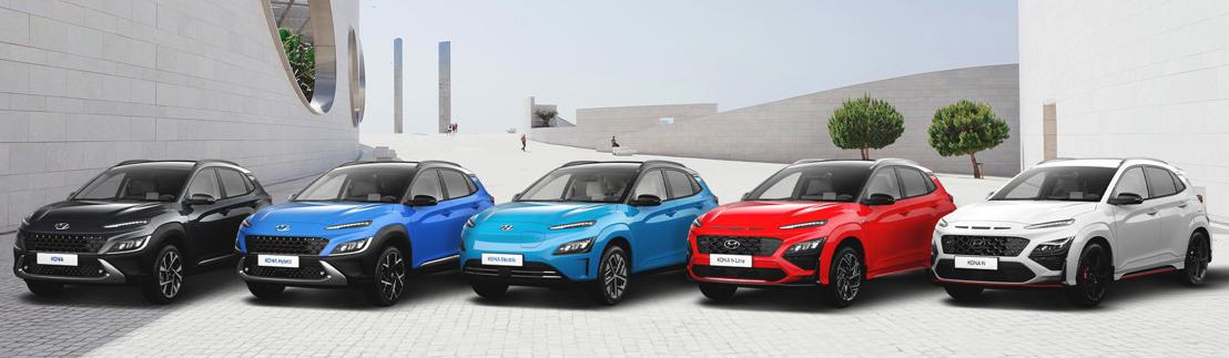 La famiglia KONA di Hyundai propone il modello ideale per ogni cliente