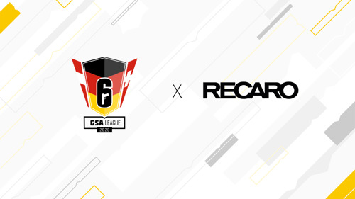 TOM CLANCY'S RAINBOW SIX® SIEGE: RECARO WIRD OFFIZIELLER PARTNER DER GSA LEAGUE 2020