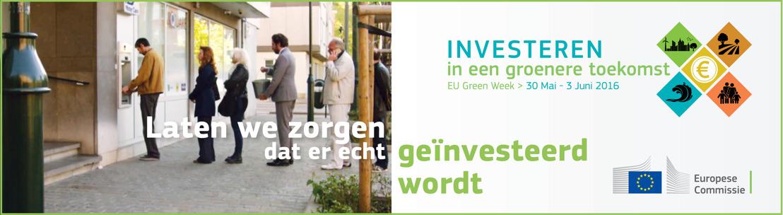 Vicevoorzitter van de Europese Commissie spreekt over groenere financiering