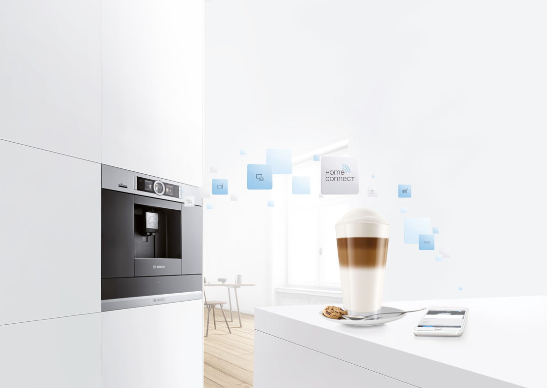 Koffiemachine Home Connect ©Bosch