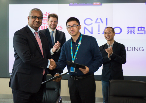 Emirates SkyCargo signs milestone MoU with Cainiao Network to use Dubai as a hub