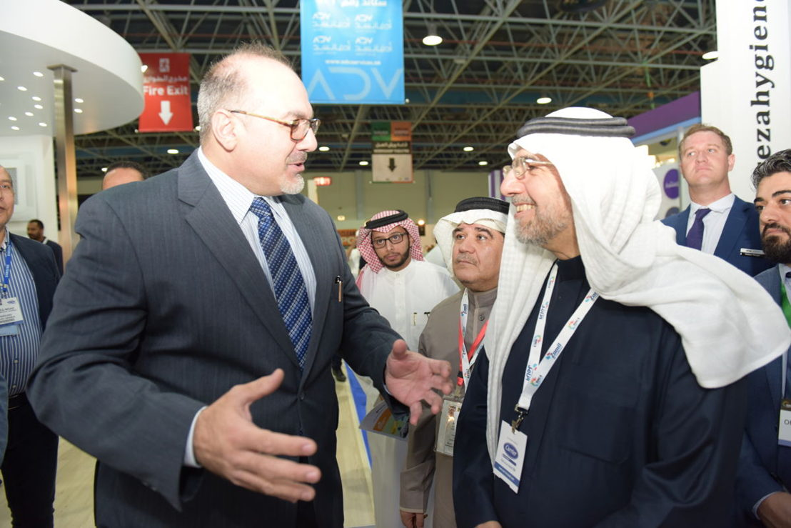 Business at HVACR Expo Saudi 2018