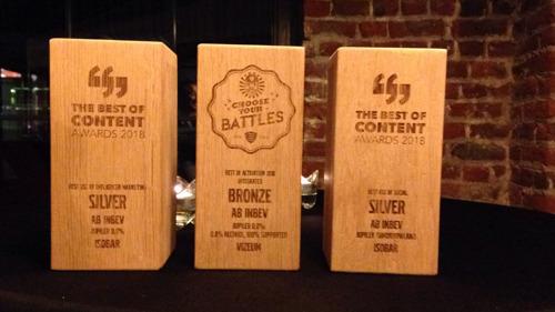 Jupiler remporte 3 prix en marketing et marque des point avec une campagne sur la consommation responsable
