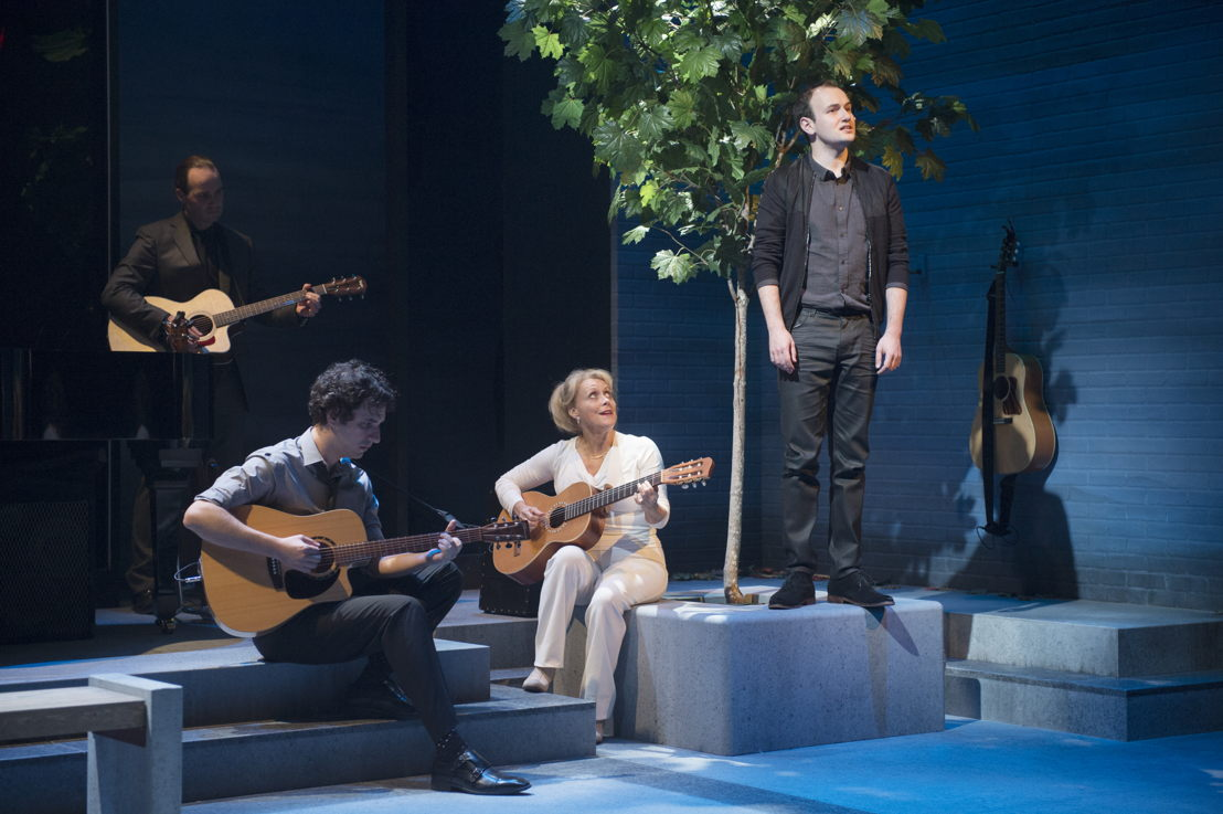 Brent Jarvis, Jonathan Gould, Linda Kidder and Anton Lipovetsky in I Think I'm Fallin' - The Songs of Joni Mitchell created by Michael Shamata and Tobin Stokes / Photos by David Cooper