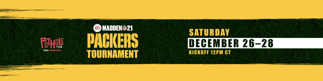 GREEN BAY PACKERS HOSTING MADDEN NFL 21 TOURNAMENT, POWERED BY OAM LIVE