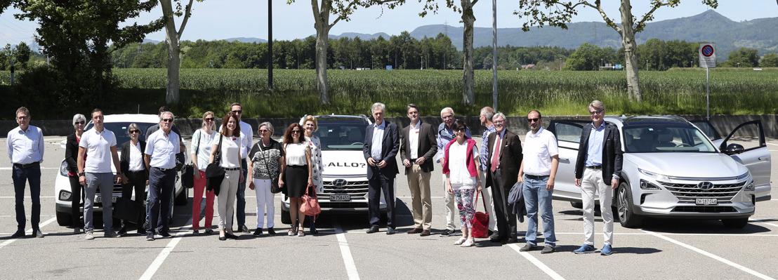 Hyundai setzt auf Wasserstoff made in Switzerland
