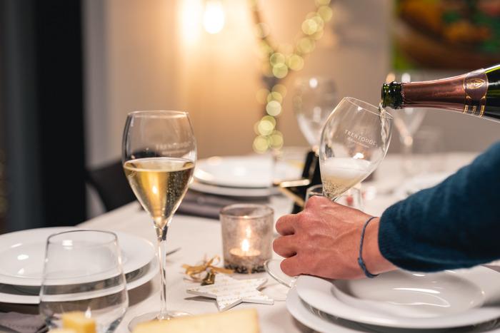 Trentodoc: otto consigli per servirlo al meglio a Natale e Capodanno