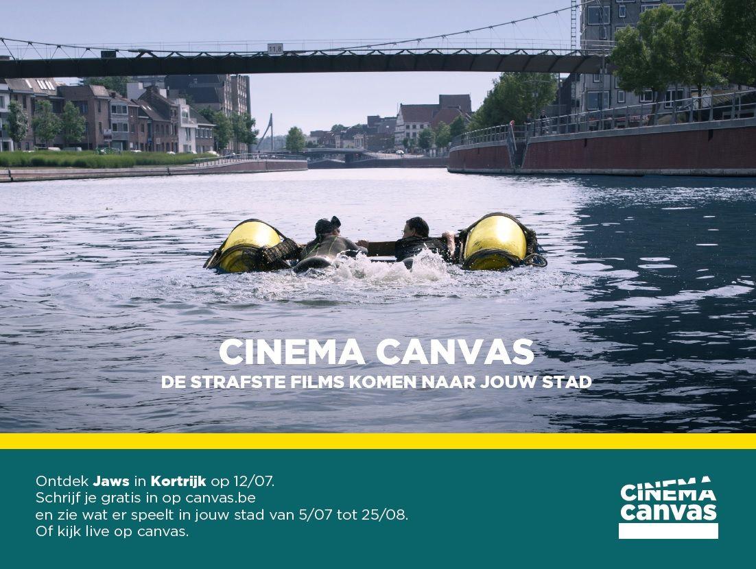 Cinema Canvas in Kortrijk