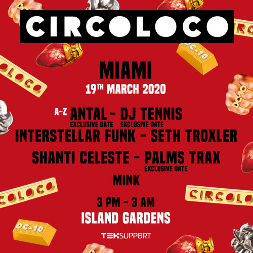 Preview: Teksupport Returns to Miami with Circoloco for Miami Music Week Showcase