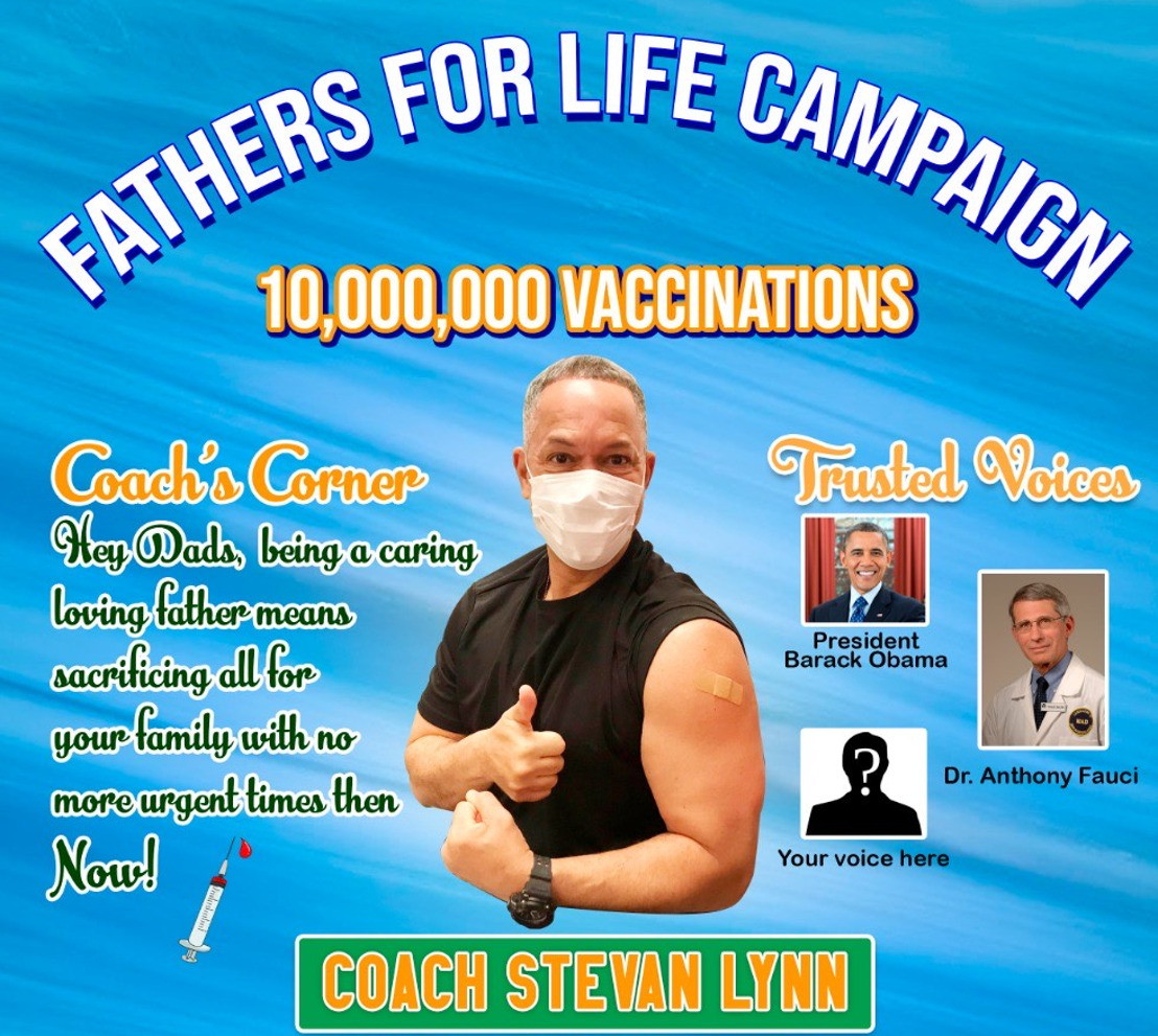 SDM Ambassador Encourages Fathers to get vaccinated