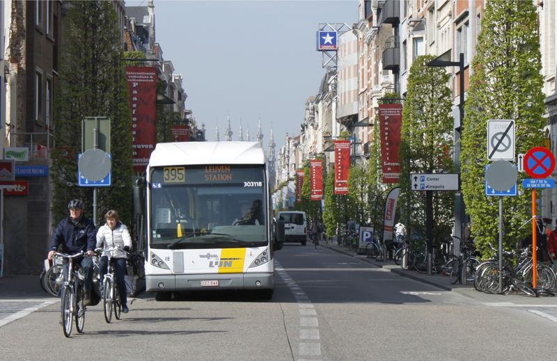 Op en rond deze Bondgenotenlaan vindt Leuven by Night plaats