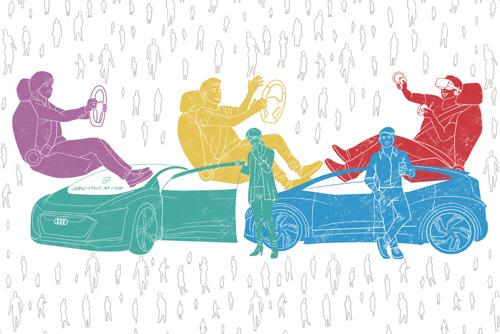 Audi publiceert gebruikerstypologie en emotioneel landschap van autonoom rijden