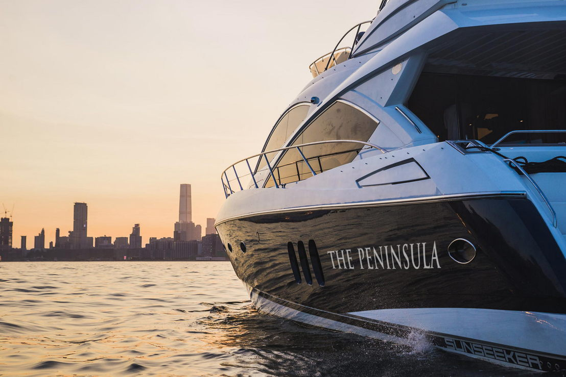 The Peninsula Yacht - Harbour Sunset Cruise