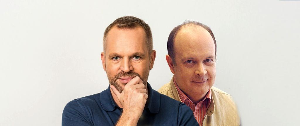 Lieven Vandenhaute en André Vermeulen © Radio 1