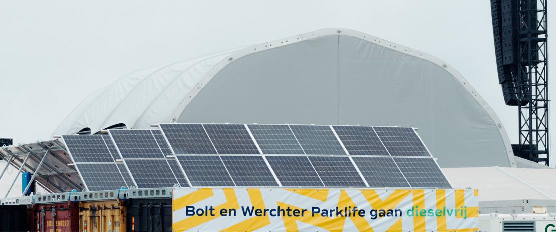 REMINDER - Primeur voor festivalsector: Werchter Parklife integraal op groene stroom