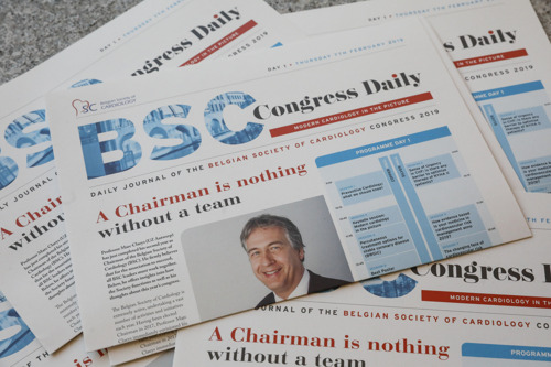 Dossier presse BSC: les nouvelles perspectives en cardiologie et la santé des belges
